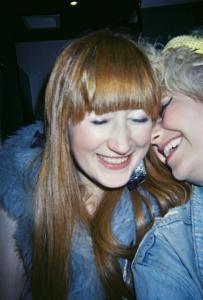 Gosia and I